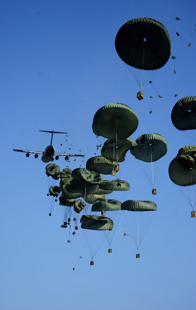 A few images taken during the Haiti relief efforts viewed through the lens of U.S. Air Force photographers - 2010