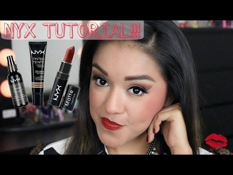 Nyx makeup tutorial for beginners || One Brand Makeup Tutorial NYX Cosmetics - YouTube