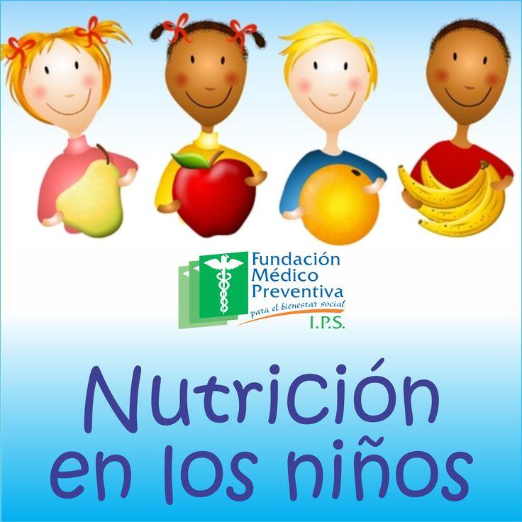 #Nutrición en los #niños
