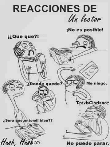 Reacciones de un lector x)