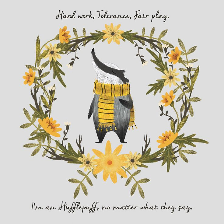 "by Silvia Brunetti  Check out this @Behance project: ""HUFFLEPUFF PRIDE"" https://www.behance.net/gallery/45661389/HUFFLEPUFF-PRIDE"