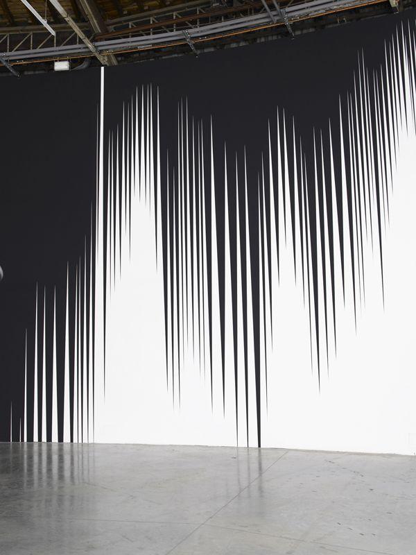 Philippe Decrauzat | Palais de Tokyo Paris 2006