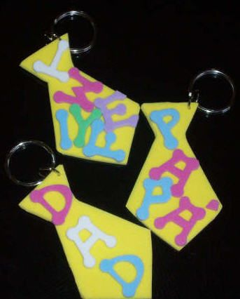 fathers day keychain crafts