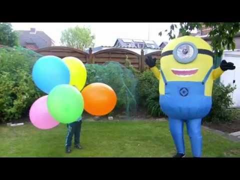 цвета для детей на русском воздушные шарики видео для детей миньоны