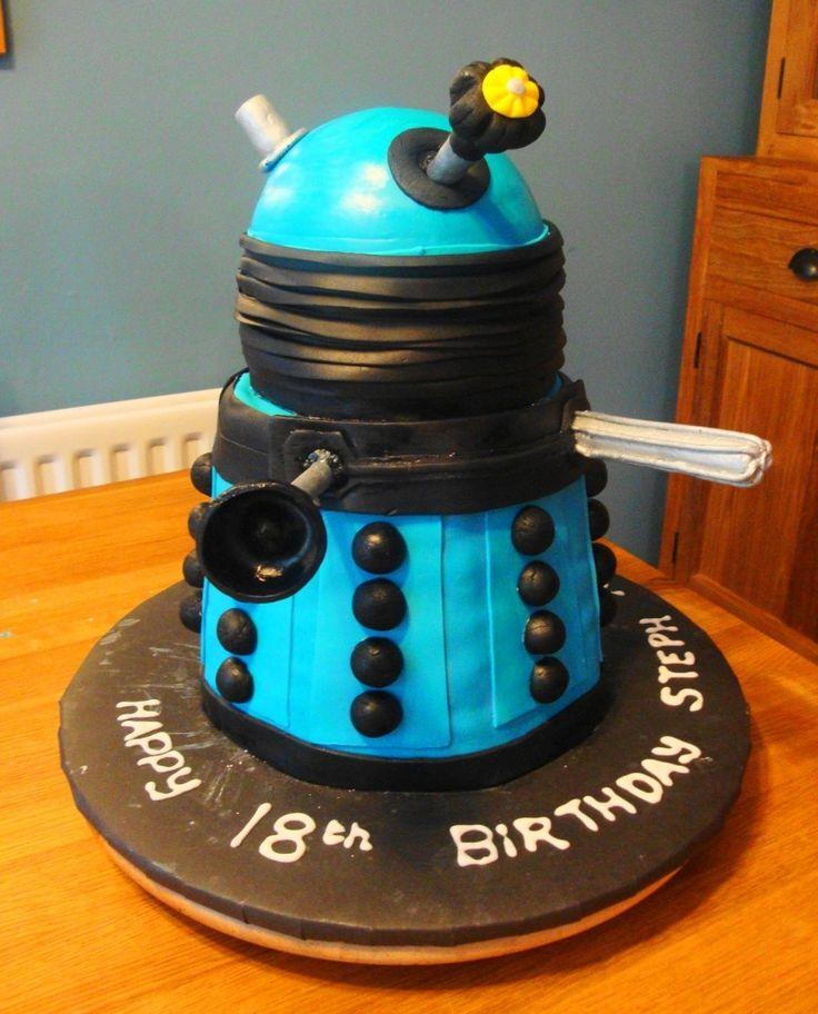 Dalek | Daleks of the Day: Dalek Cake of the Week