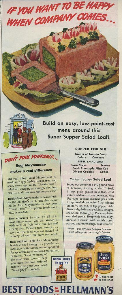 Super Salad Loaf packed in a bologna shell.  Mmmmm good!  -- A Lifetime Legacy -- http://ALifetimeLegacy.com