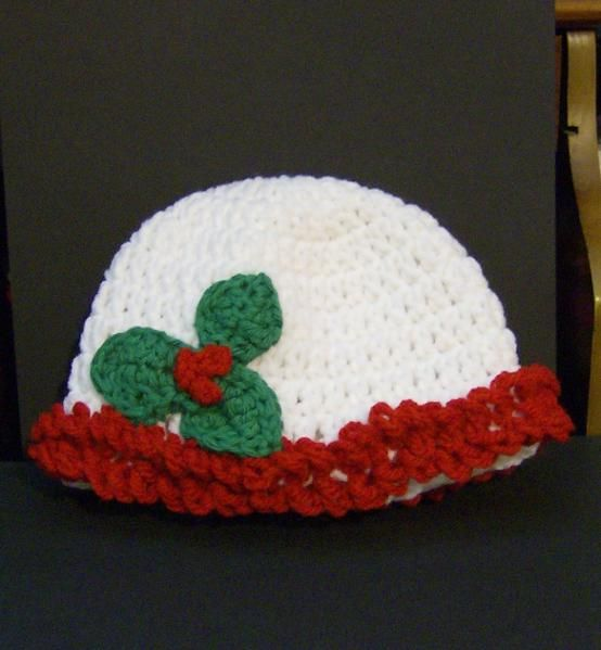 infant hatCrochet Sewing, Baby'S Toddle Hats, Buy Indie, Crochet Christmas, Christmas Hats E 09G6, Crochet Baby, Chriscreations Projects, Infants, Baby Stuff
