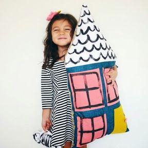 Клёвая подушка своими руками станет замечательным подарком  #подушка #подарок #своимируками #сделай_сам #handmade