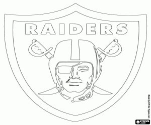 raiders coloring pages - photo#19