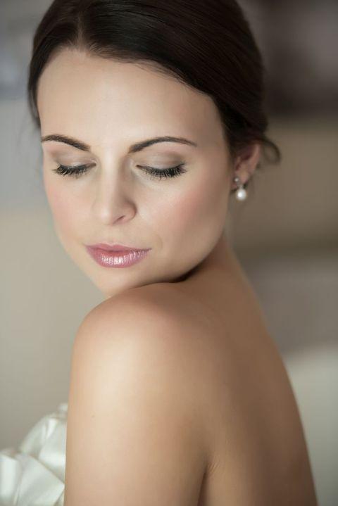 Colour on the Eyes, pink lipstick.  Tori Harris Make-Up Artist