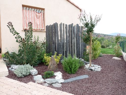 Jardin min ral et v g tal cr ation de jardin r alis for Creation de jardin