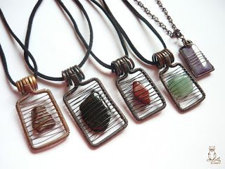 294 best wiring wrapping images on pinterest jewellery making great for small pieces of glass or flat little stones aloadofball Gallery