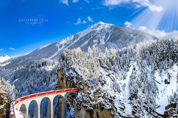 Swiss Train by Alessandro Colle on 500px