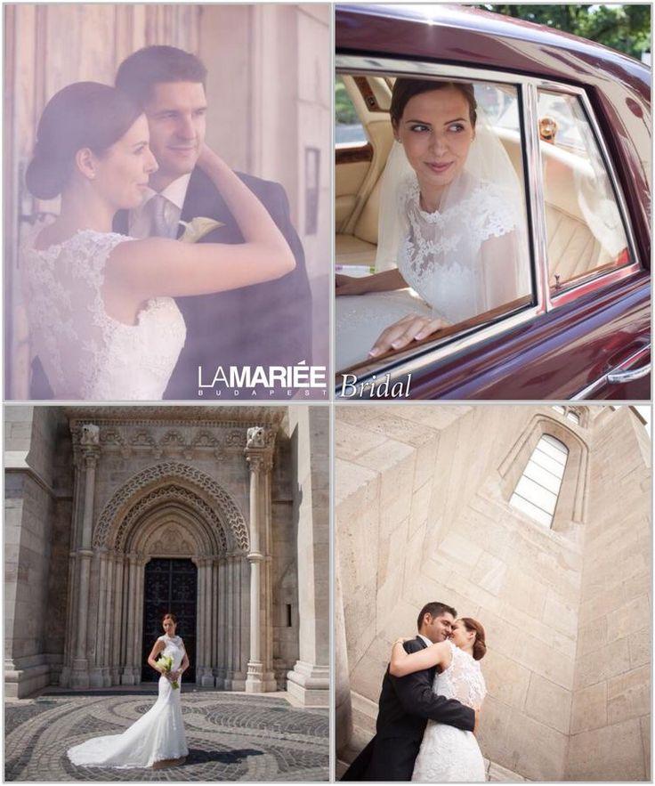 LANDEL esküvői ruha Pronovias kollekció - Réka menyasszonyunk http://mobile.lamariee.hu/eskuvoi-ruha/pronovias-2014/landel
