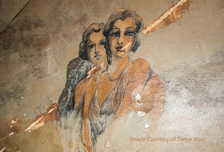 Vintage Murals Discovered When you restore an old building, you never know what you will uncover.   Concord Painting, Inc.	 600 Third Avenue, 2nd Floor, New York, NY 10016	 212-382-1100	  #concordpainting #murals #buildingrestoration #facadepaintingny #commercialpainternyc #industrialpaintingnewyork