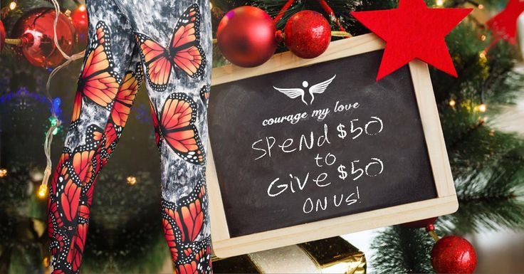 Ready to begin your Christmas shopping? Start with the BFF. Spend $50 on yourself and give your friend a $50 voucher on us! Gift-giving just got a whole lot easier, didn't it?  #couragemyloveclothing #ChristmasPromo #Christmas #vouchers #shopping #Spend50Give50Promo  http://amp.gs/nx8Y