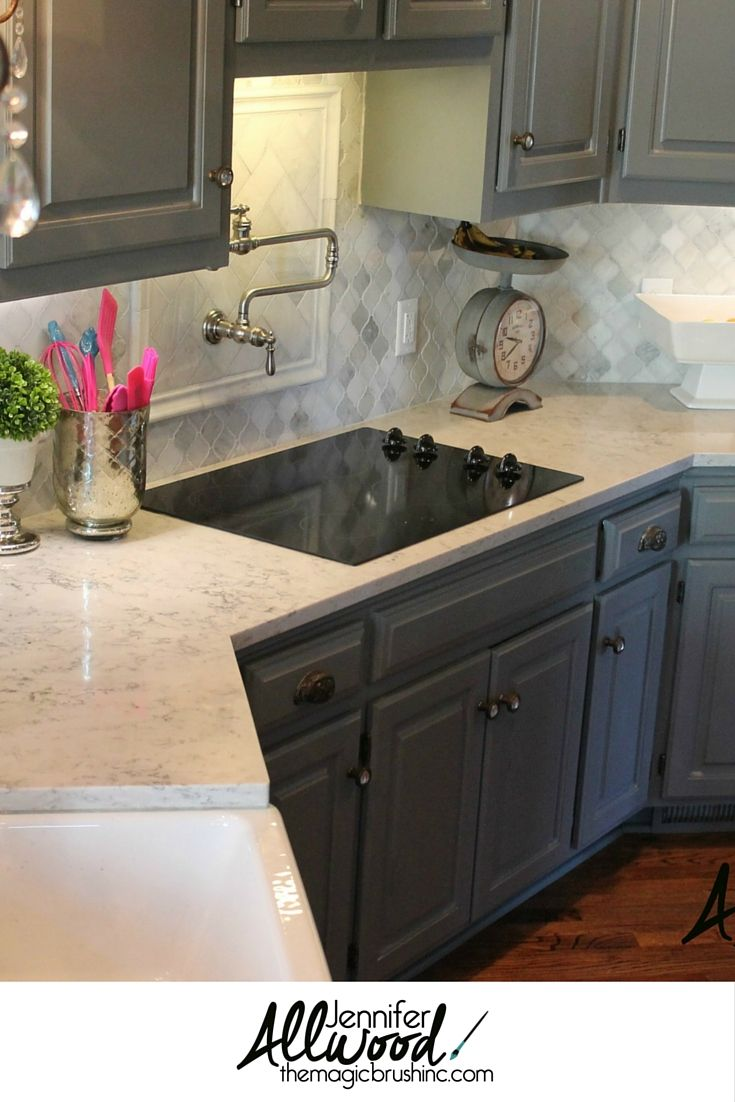 Tattoos arabesque tattoos arabeske tattoos arabesk tattoos - Kitchen Backsplash Idea To Go With Gray Cabinets We Just Replaced Our Kitchen Backsplash With