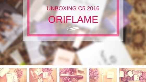 unboxing oriflame c5 2016