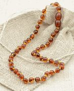 Baltic amber bead teething necklace: Amber Necklace, Baby Teething, Baby Children, Sweet Baby, Baby Dash, Baby Clothing