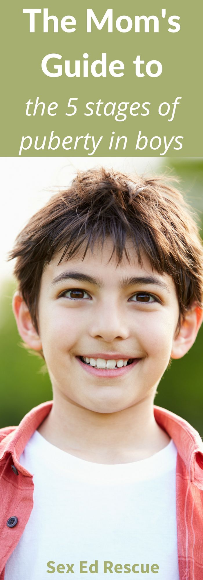 Not sure about the stages of puberty boys? Find out what they are so that you can prepare your son (before it happens)