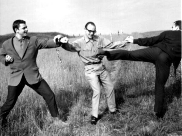 Rinus Schulz, Jan Kallenbach and  Henry Seriese