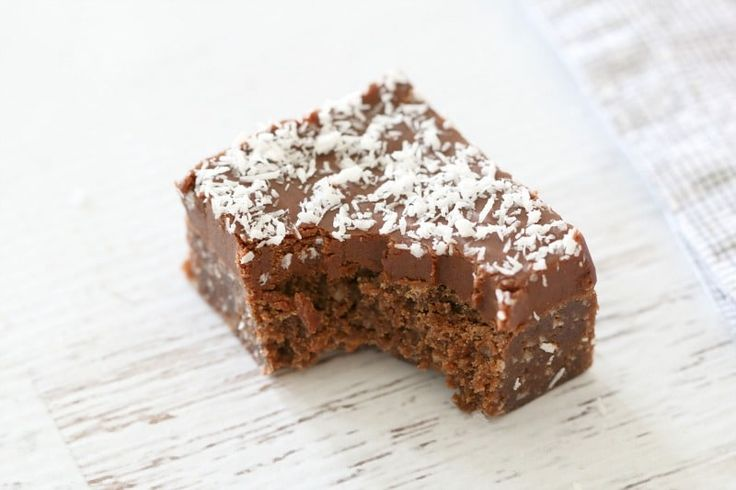 Easy Chocolate Coconut Slice (most popular) image
