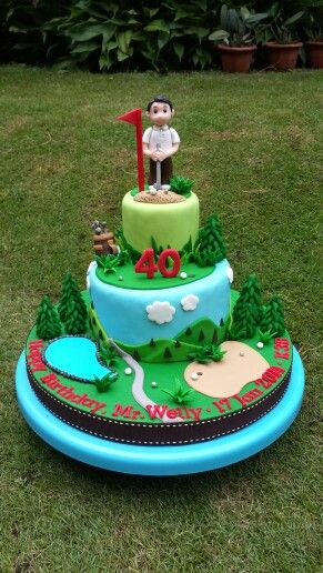 13 best Putt Putt Party images on Pinterest Golf cakes Birthdays