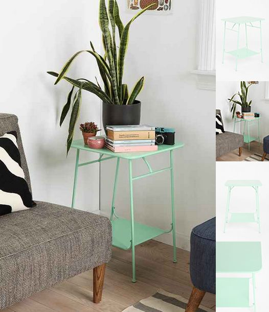 Colorful Side Table From Urban Http://www.urbanoutfitters.com/urban