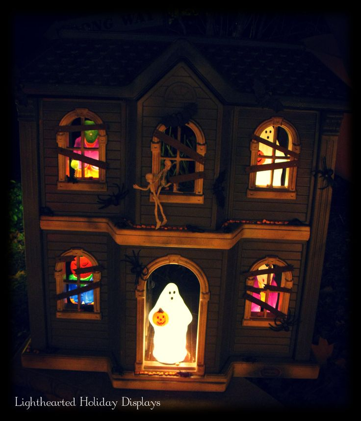 haunted house lighting ideas. brilliant haunted house lighting ideas our dollhouse at night flmb to picture
