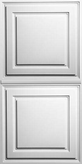 Stratford White Ceiling Panels