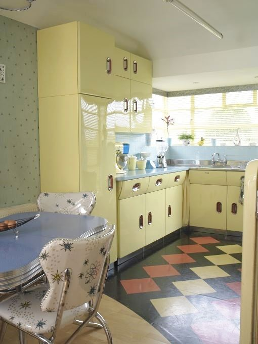 Www Yourvintagelifeblog Retro Kitchen Decor1950s