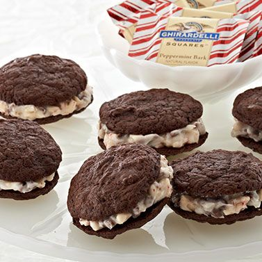 ... , Cookies Recipe, Baking, Sandwich Cookies, Peppermint Chocolates