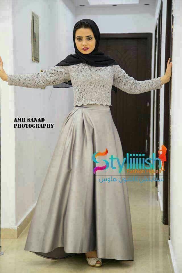 22 best Hijab Dresses images on Pinterest | Hijab kleid ...