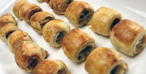 Puff Pastry Sausage Rolls - Recipes - Best Recipes Ever - These ever-popular sausage rolls are so easy to make and so delicious that you'll never want the store-bought variety again....