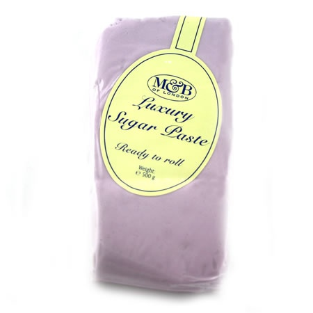 M Lilac Luxury Ready To Roll Sugarpaste 500g