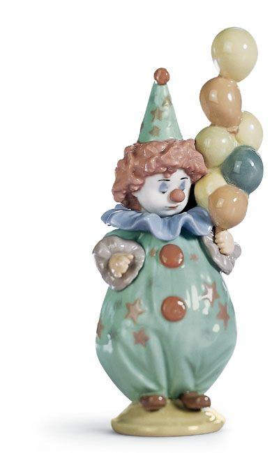 Lladro Littlest Clown / Sculptor: Antonio Ramos