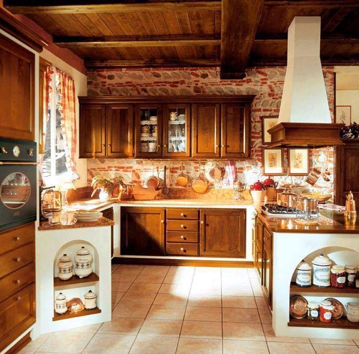 Più di 25 fantastiche idee su Cucine Rustiche Di Campagna su Pinterest  Decorazione cucina ...