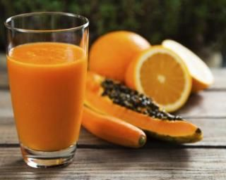 Smoothie détox à la papaye, carotte et orange