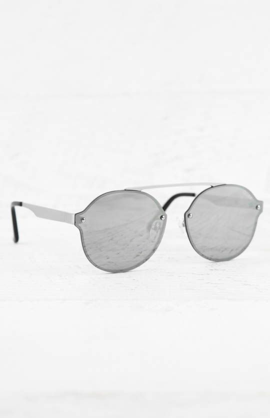 Quay Australia | Camden Heights Sunglasses - Silver/Silver | peppermayo.com