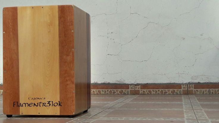 Cajón peruano profesional Flamentr3lok hecho en Chile