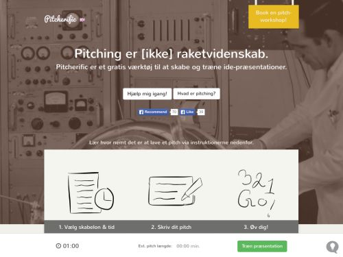 Pitcherific: Improve pitching ideas with our free pitch-training tool