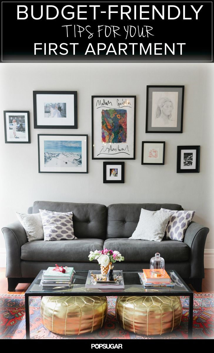 Money Saving Tips For Decorating Your First Apartment Styling Inspiration Pinterest Living And