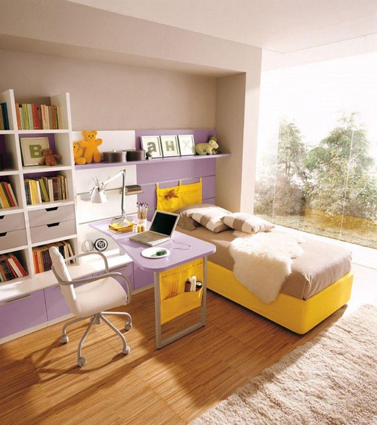 Kids Bedroom Yellow best 25+ purple kids bedrooms ideas on pinterest | canopy bedroom