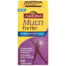 Nature Made - Multi Vitamin & Minerals For Women, 90 Tablets Lowest price is $7.71 from 5 stores.