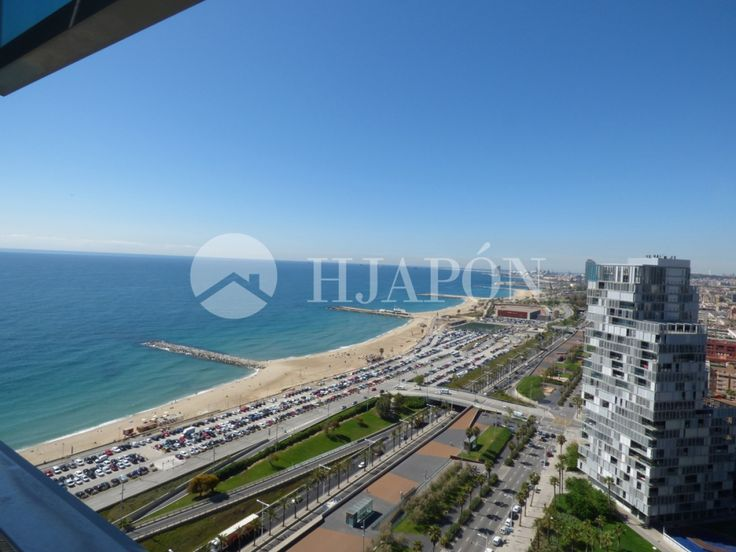 Stunning duplex penthouse with panoramic views of Barcelona's coast in Diagonal Mar in Spain