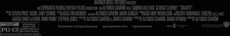 GRAVITY - In theaters October 4, 2013