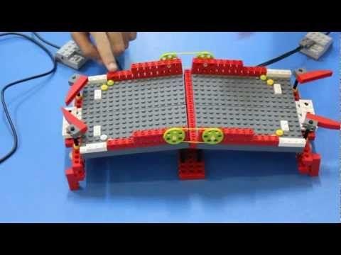 Aula Innovación AIP-CRT: Robótica WEDO LEGO - Ranita - YouTube