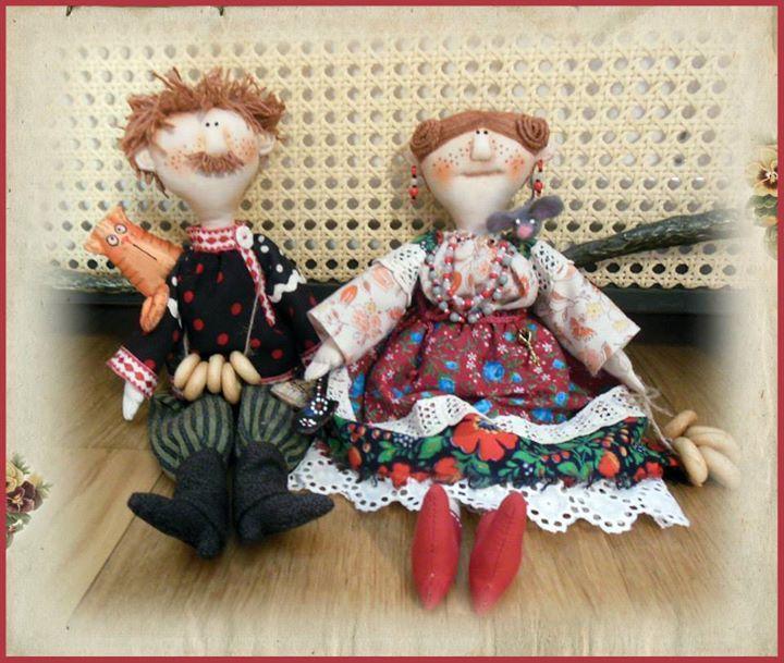 Домовушки Куклы Ольги Турченко
