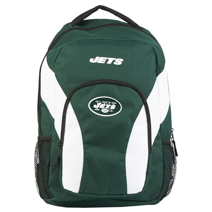 New York Jets NFL Draft Day Backpack. Visit SportsFansPlus.com for a Discount Coupon.