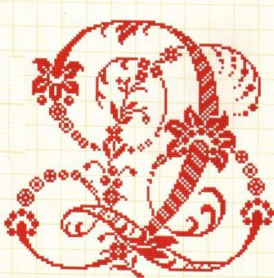 Q - Filomena Crochet e Outros Lavores: - Monogramas